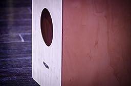 Meinl Percussion HCAJ1NT Headliner Series Rubber Wood String Cajon, Medium Size (VIDEO)