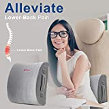 Lumbar Pillow Back Pain Support - Seat Cushion For