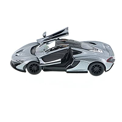 McLaren P1, Gray - Kinsmart 5393D - 1/36 Scale Diecast Model Toy Car: Toys & Games