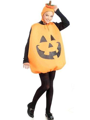 [Pumpkin Tunic Adult Costume] (Adult Pumpkin Halloween Costumes)