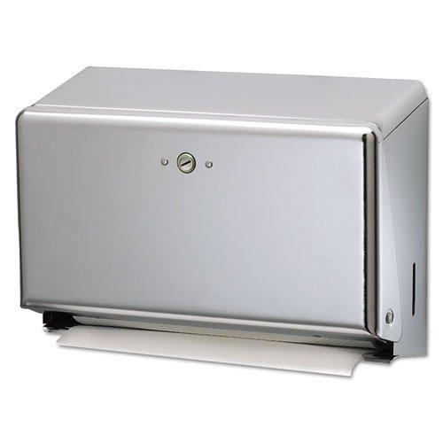 SANT1950XC - San Jamar T1950XC Mini C-Fold or Multifold Paper Towel Dispenser