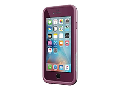Lifeproof FRE Waterproof Case for iPhone 6/6s (4.7-Inch Version)- Crushed (Stomp Purple/Paddle Purple/Sky Fly (Blue Waterproof Iphone Case)