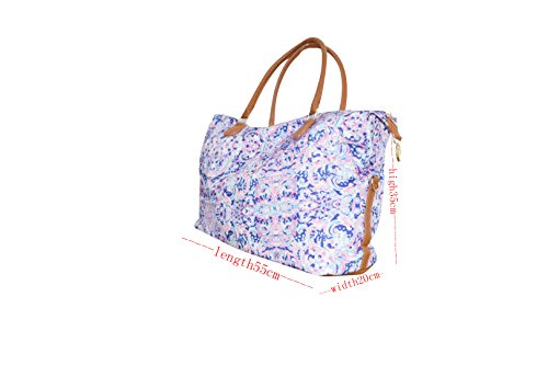 Lilly Inspired Rose or Coral Weekender (Boho)