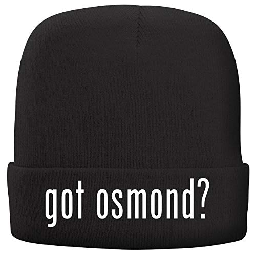 - BH Cool Designs got Osmond? - Adult Comfortable Fleece Lined Beanie, Black
