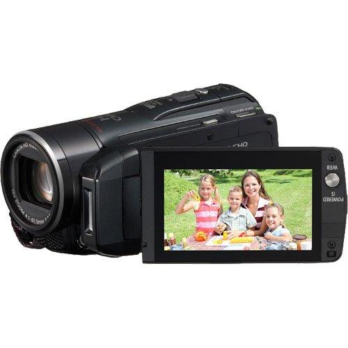 Canon Vixia HF M301 Flash Memory Full HD Digital Video Camcorder (Black Version of HF ()