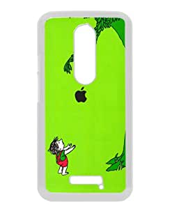 Cheap Abstract Moto X 3rd Case,Giving Tree White New Custom Design Motorola Moto X 3rd Generation Cover Case