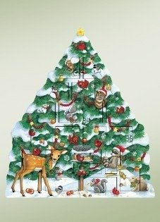 UPC 688524006038, Byers' Choice Snow Tree Advent Calendar AC08 - New for 2016
