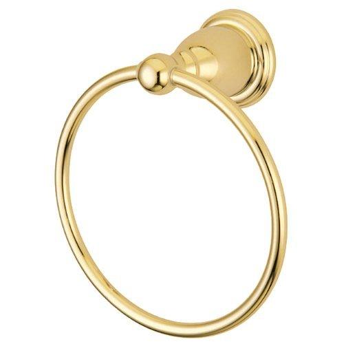 Kingston Brass BA1754PB Heritage 6-Inch Towel Ring, Polished Brass by Kingston Brass