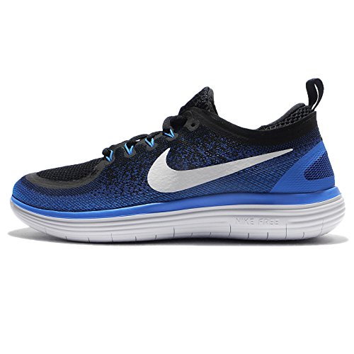 35297a538e862 Galleon - Nike Men s Free RN Distance 2 Armory Navy White Black Running Shoe  9.5 Men US