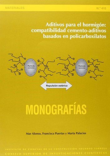 Aditivos para el hormigón: compatibilidad cemento-aditivos basados en policarboxilatos