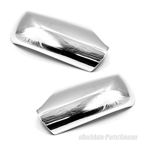 erushautoparts Ultra Chrome Door Mirror Covers For 2007-2012 Nissan Altima w/o signal cut