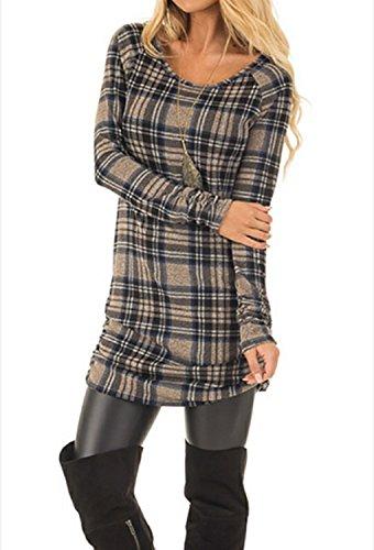 mini dress and boots - 2