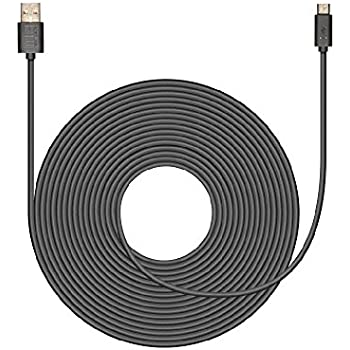 Amazon.com: 20ft USB Power Cable for Nest Cam or Dropcam
