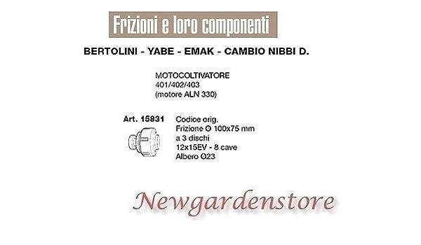Embrague 100 x 75 motocultor 401 402 403 ALN 330 Bertolini ...