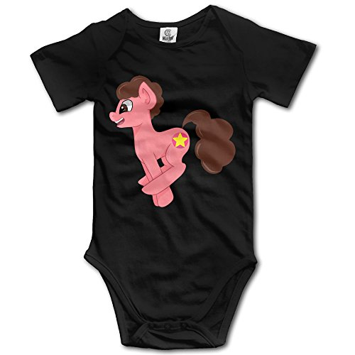 HYRONE Steven Pony Universe Baby Bodysuit Long Sleeve JumpSuit Romper Size 18 Months Black (Fusion 3 Case Otterbox)
