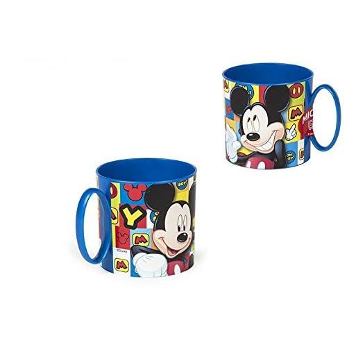 Colorbaby, 76840, Mickey Mouse Microwave Value tasse, petite tasse, 265 ml