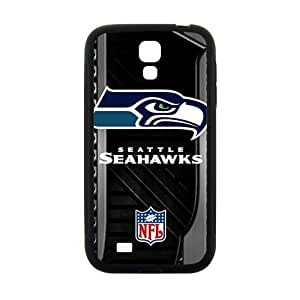 Happy Seattle Seahawks Logo Fashion Comstom Plastic case cover For Samsung Galaxy S4