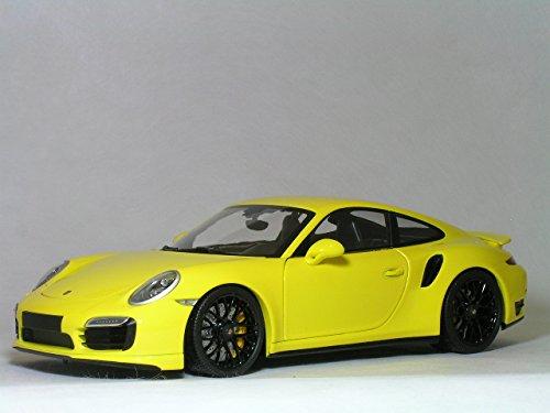 最安値級価格 1 ターボ/18 PORSCHE ポルシェ 〓 1/18 911 (991) ターボ S (イエロー/ ブラック ホィール) 〓 PORSCHE B01EJHVE7C, 和菓子「千鳥屋」:87ca4f8c --- test.ips.pl