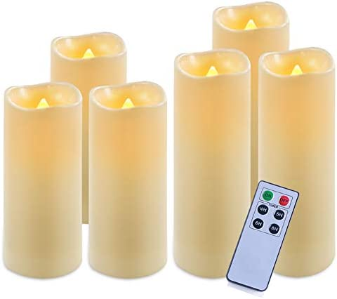 Homemory Waterproof Flameless Flickering Operated product image