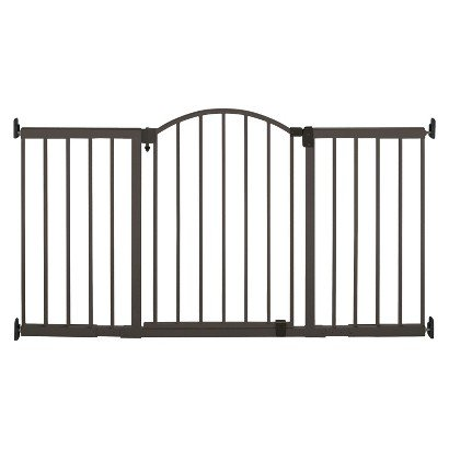 Summer Infant Extra Tall Walk-thru Expansion Gate - Metal - Toddler Kids Furniture - Adjustable to Desired Width and Sturdy - Perfect for Protection and Safety of Toddlers ()