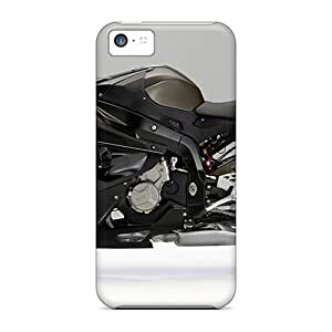 Snap-on New Bmw S 1000 Rr Black Cases Covers Skin Compatible With Iphone 5c