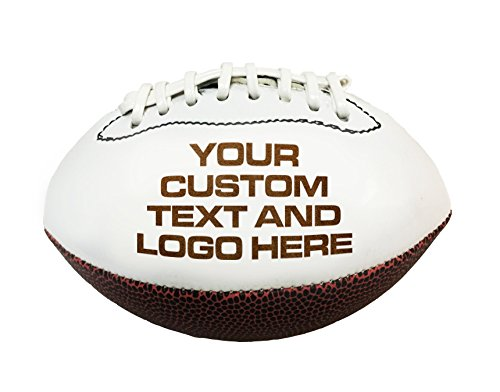Hat Shark Custom Personalized 3D Laser Engraved Miniature Customized Toy 7 inch Football -