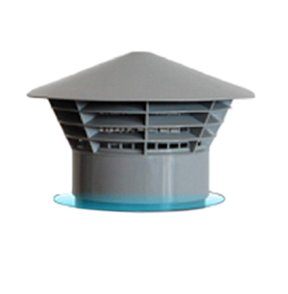 Sombrero de lluvia de 110 mm - parrilla - jaula para - Sombrero de tubo de aguas residuales: Amazon.es: Bricolaje y herramientas