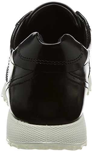 Ladies Sneak Ecco Black Negro para Zapatillas Mujer O8nn1