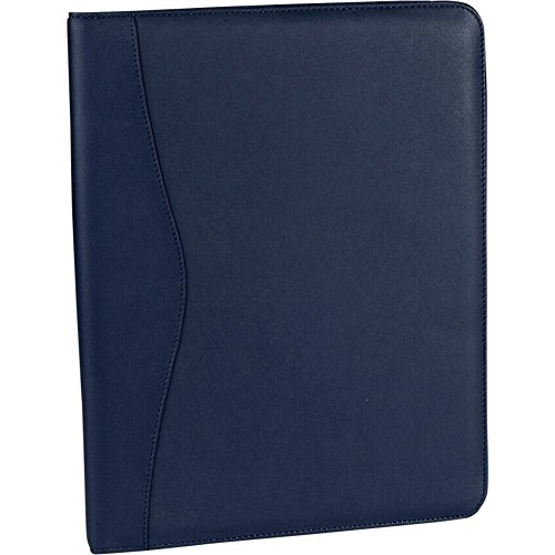 Royce Leather Deluxe Writing Padfolio (Blue) by Royce Leather