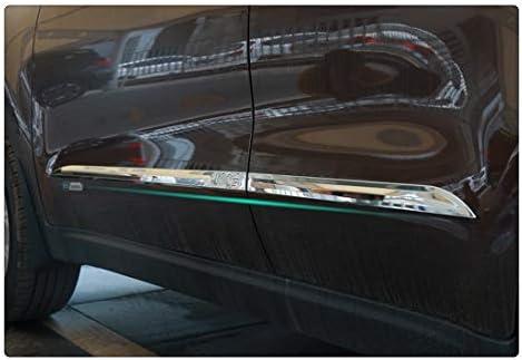 Jin cypress Body Side Door Molding Cover Trim Decor for KIA sportage KX5 2016-2019