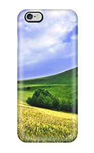 Sanp On Case Cover Protector For Iphone 6 Plus (green Meadows)