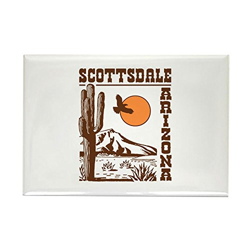 CafePress Scottsdale Arizona Rectangle Magnet Rectangle Magnet, 2