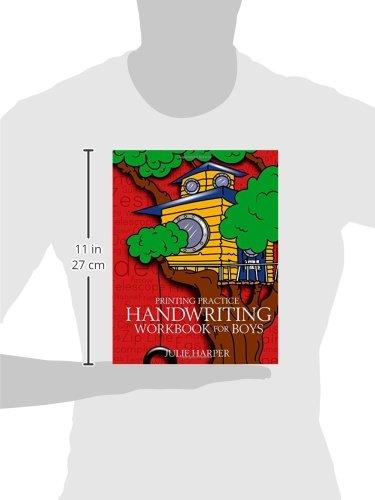 Printing Practice Handwriting Workbook for Boys: Julie Harper ...
