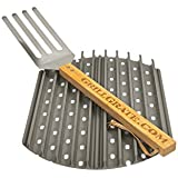 """GrillGrate for the 14.5"""" Weber Kettle Grill Small Green Egg and MiniMax"""