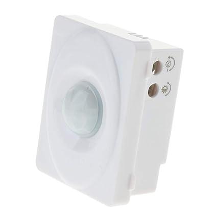 D DOLITY Nuevo 12V Cuerpo Infrarrojo PIR Sensor de Movimiento Interruptor LED Tira de Luz Automática