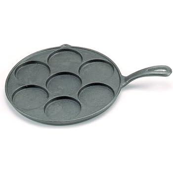 Amazon Com Norpro 3117 Cast Iron Plett Pan Pancake Pan