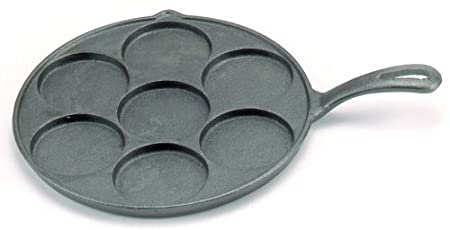 Norpro 3117 Cast Iron Plett Pan