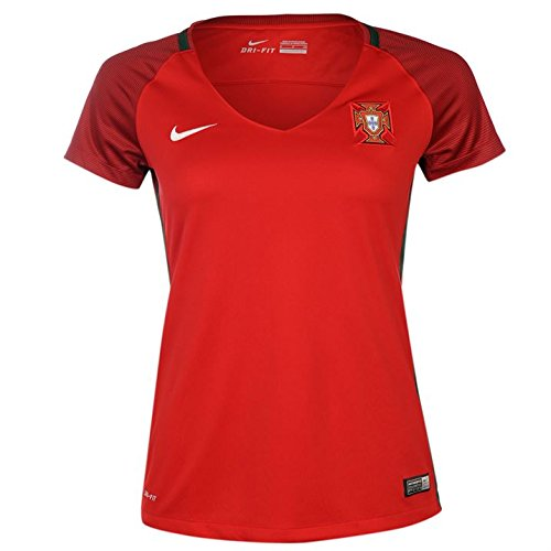 Nike womens FPF W SS HM STADIUM JERSEY 724676-687_L - GYM RED/DEEP - Portugal Women