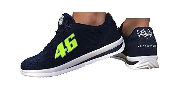 Zapatillas Valentino Rossi The Doctor VRFORTYSIX 46 Unisex (39 EU, Azul Marino): Amazon.es: Zapatos y complementos