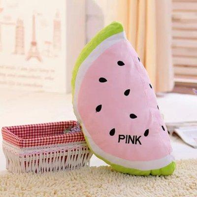 Fruta Cengbao sandía cojín almohada manta oficina creativa ...