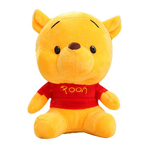 Pooh Cotton Winnie The Mittens - IAMQUT Disney Stuffed Animals Plush Mickey Mouse Minnie Winnie The Pooh Doll Lilo and Stitch Piglet Keychain Birthday Gift Kid Girl Toy
