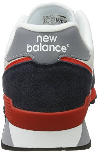 Uomini Nuovi Equilibrio U446 Scarpa Da Tennis, Bianco (bianco / Navy)