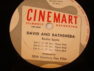 david-batsheba-20th-century-fox-cinemart-filmonic-records-radio-spots