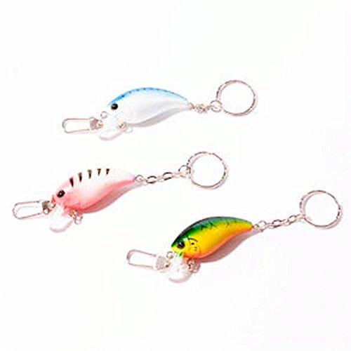- U.S. Toy Fish Lure Keychain