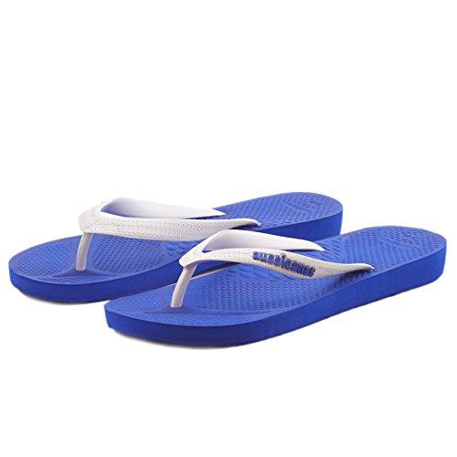 Aussie Soles - Sandalias adultos unisex Royal Blue / White