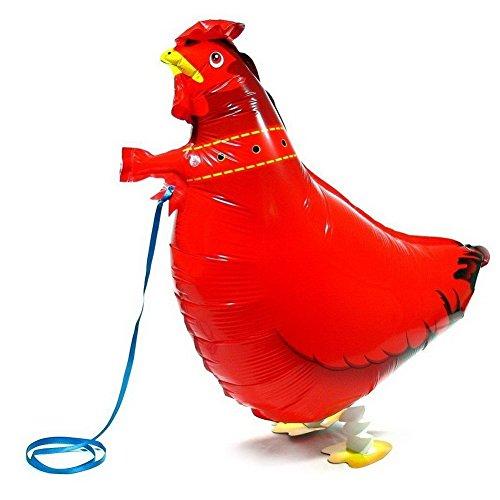 MY BALLOON STORE® ™ WALKING ANIMAL PET AIR WALKER HELIUM BALLOON PARTY DECOR FUN (CHICKEN / HEN) -