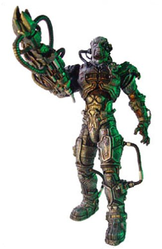"7"" Star Trek Borg Assimilation Klingon Action Figure"