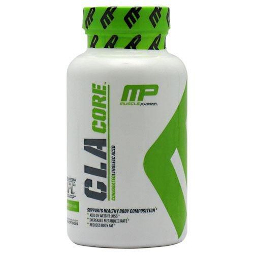 Supplément de CLA, Muscle Pharm, CLA Core-90 gels doux, acide linoléique conjugué, soutient composition corporelle saine, aide à la perte de poids, réduit la graisse corporelle, cuisses, bras, fesses, la graisse du ventre, augmente le métabolisme