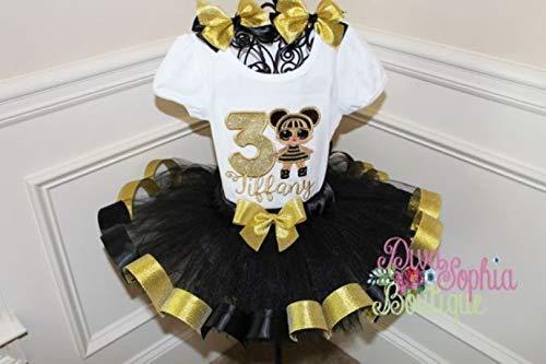 LOL Bee Queen Doll Ribbon Tutu Set -