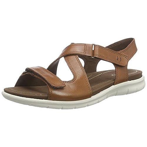 bcfbac3ec921 free shipping Ecco Footwear Womens Babett Cross-Strap Sandal - a-s.dk